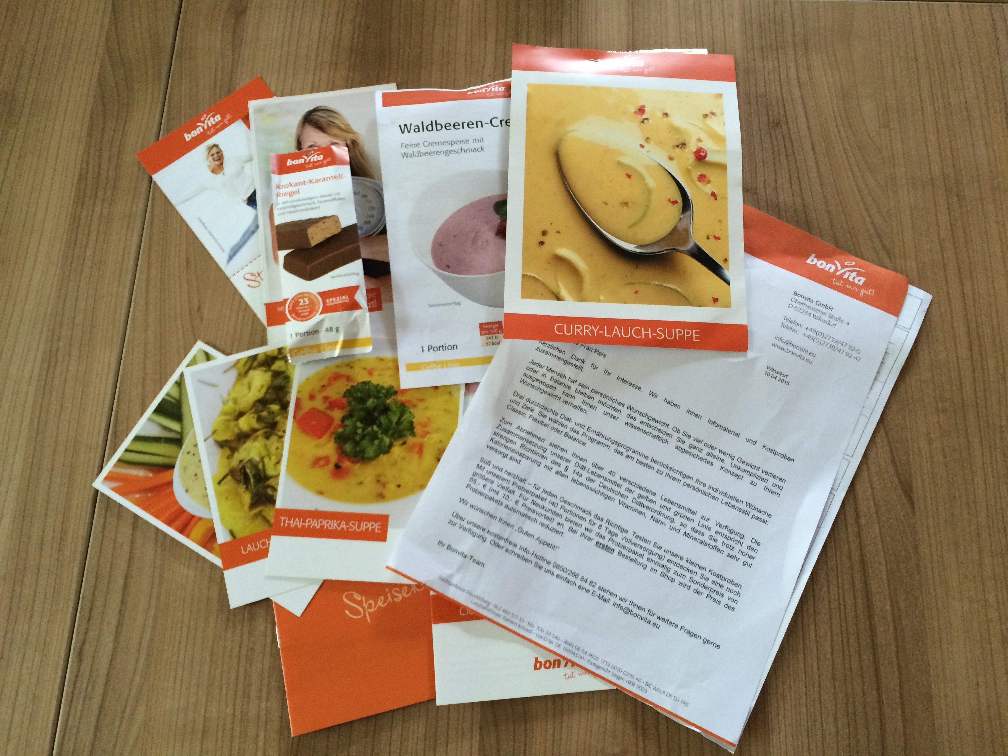 BonVita - Curry-Lauchsuppe Probe - Probenqueen