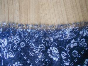 Halstuch blau-weiß von C&A Detailansicht Probenqueen