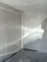 Garage hinterher